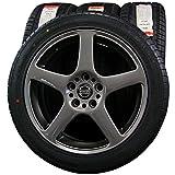 【タイヤホイール 4本】 ATR SPORT (ATRスポーツ) CORSA (コルサ) 2233 225/45ZR17 BWA Racing (BWAレーシング) 17×7J(+35)108-5H ガンメタ