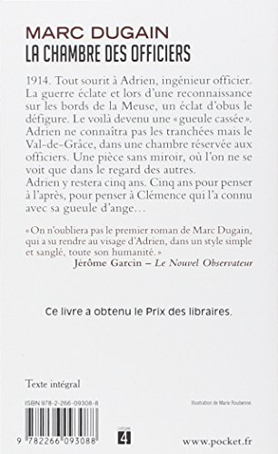 Libro la chambre des officiers di marc dugain for Resume la chambre des officiers