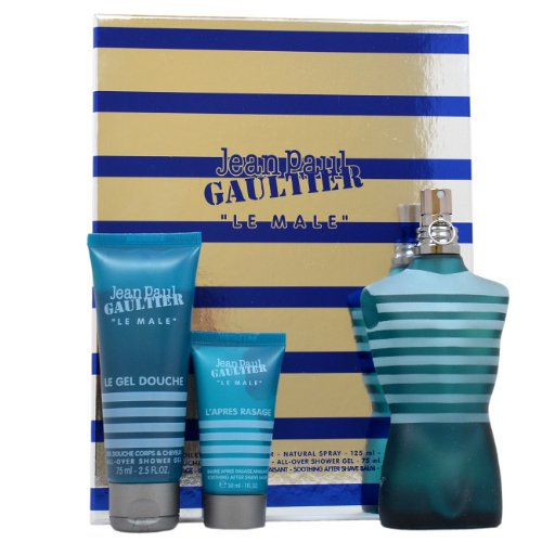 Jean Paul Gaultier Le Male 3 Piece Gift Set for Men