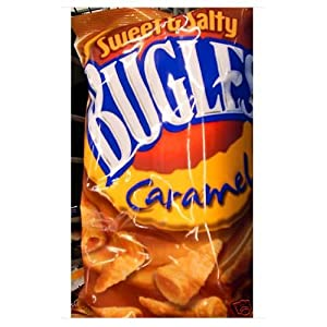 Bugles Sweet & Salty Caramel (Pack of 7) by Bugles