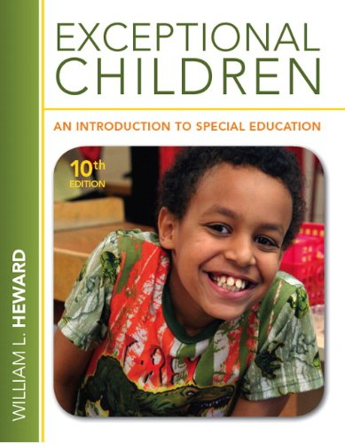 Exceptional Children: An Introduction to Special...