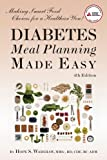 51m8WsTaehL. SL160  Diabetes Meal Planning Made Easy, 4th Edition