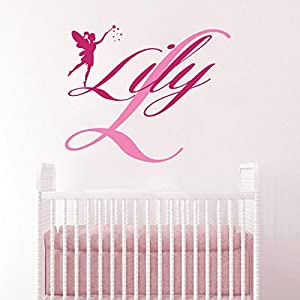 Amazon.com: Wall Decals Personalized Name Decal Monogram ...