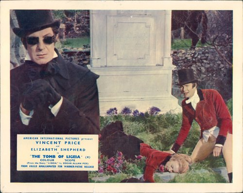 Tomb Of Ligeia Lobby Card