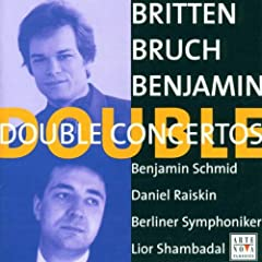 Double Concertos: Briten/Bruch