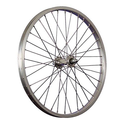 Taylor-Wheels-Laufrad-20-Zoll-Vorderrad-Bchel-Aluminiumfelge-Vollachse-silber