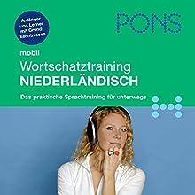 PONS mobil Wortschatztraining Niederländisch Hörbuch von Digna Myrte Hobbelink Gesprochen von: Friso de Jong, Karin Adam