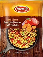 Osem Heat amp Serve Israeli Toasted Couscous amp Vegetables 46 Ounce Pack of 12