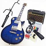 エレキギター初心者 BLP-450 SBL レスポールタイプ入門セット VOXアンプ付13点セット