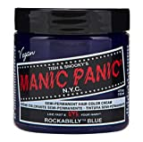 Manic Panic Rockabilly Blue Semi Permanent Vegan Hair Dye.