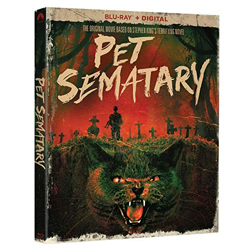 Blu-ray : Pet Sematary (30th Anniversary) (Anniversary Edition, Digital Copy, Dubbed, Subtitled, Widescreen)