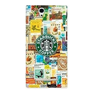 Premium Coffee SB Multicolor Back Case Cover for Sony Xperia C3