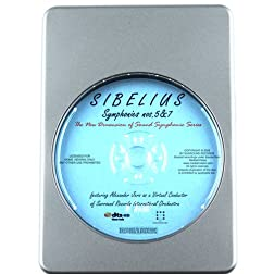 Sibelius: Symphonies No.5&7 - 7.1 DTS-HD 3D Sound Blu-ray Audio Signature Series