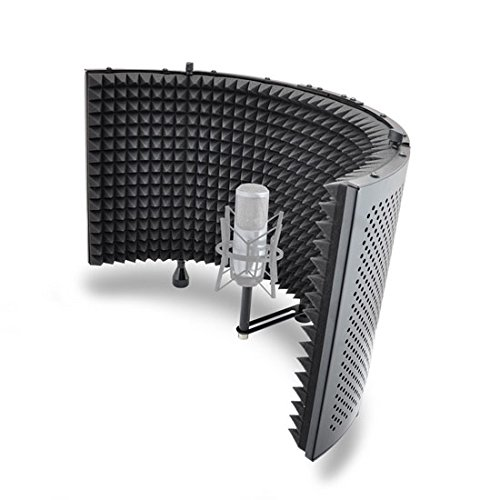 Pyle-PSMRS11-Acoustic-Isolation-Microphone-Absorber-Shield