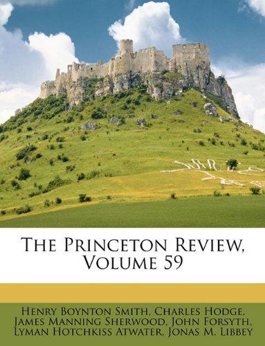 The Princeton Review, Volume 59