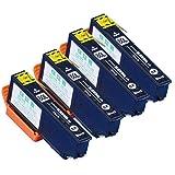 インクのチップスオリジナル製品  【ブラック4本セット】 ICBK80L (ブラック) 増量版の4個セット エプソン (EPSON) IC80L マルチパック 増量版 【互換インクカートリッジ】 対応機種:EP-977A3/EP-907F/EP-807AW/EP-807AB/EP-807AR/EP-777A/EP-707A「JAN:4582480215205」  フラストレーションフリーパッケージ FFP