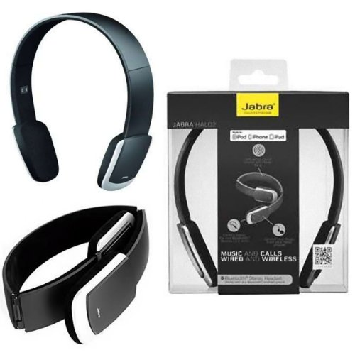 Jabra Halo 2 Am3D Bluetooth Stereo Headset For Iphone 4S 5 Galaxy I9300 Note 2