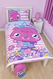 Character World 135 x 200 cm Moshi Monsters Poppet Vogue Single Panel Duvet Set