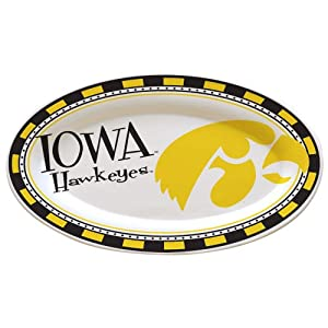 NCAA University of Iowa Gameday 2 Ceramic Platter
