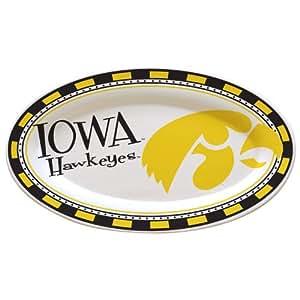 NCAA University of Iowa Gameday 2 Ceramic Platter