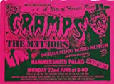 THE CRAMPS REPRODUCTION CONCERT PROMO PHOTO POSTER 16X12