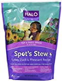 Halo Spot's Stew Dry Recipe for Small Breed Dogs, Turkey, Duck and Pheasant, 4-Pound