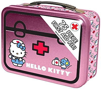 Tactical First Aid Kit: Hello Kitty All Purpose Children's First Aid Kit by Hello Kitty