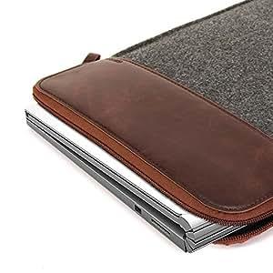 .com: Microsoft Surface Book Sleeve, GMYLE Sleeve Felt for Microsoft