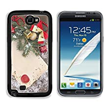 buy Msd Samsung Galaxy Note 2 Aluminum Plate Bumper Snap Case Frame With Vintage Paper And Christmas Decorations On Wooden Background Image 25383653