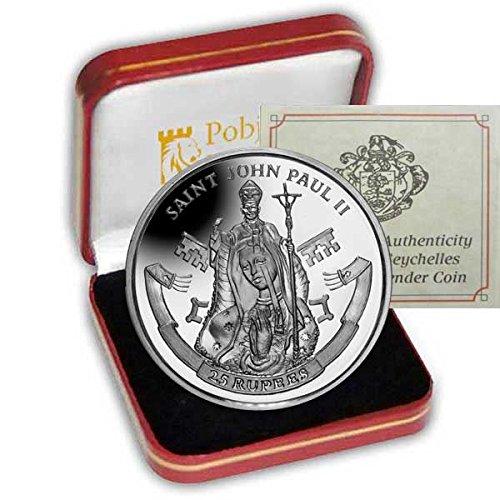 il-2014-canonisation-del-suo-holiness-papa-john-paul-ii-in-argento-925-a-forma-di-moneta