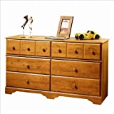 Country Style Country Pine Finish Dresser