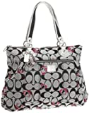 Coach Poppy Signature Glam Tote 18711