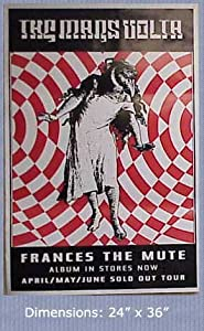 "MARS VOLTA Frances The Mute 24""x36"" Poster"