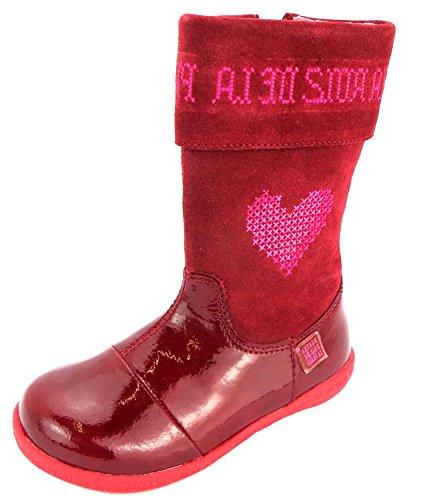Agatha Ruiz De La Prada 151941, Stivali bambine rosso Rot, rosso (Rot), 31 EU Kinder