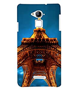 PRINTSHOPPII EIFFEL TOWER Back Case Cover for Coolpad Note 3