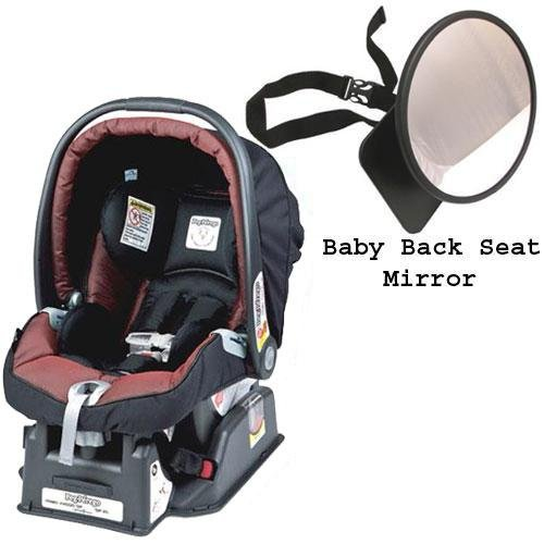 Peg Perego Primo Viaggio sip 30 30 Car Seat w Back Seat Mirror - Boheme