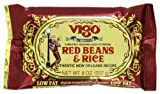 Vigo Red Beans and Rice, 8-Ounce Pouches (Pack of 12)