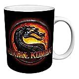 Mortal Kombat MK9 Logo Fighting Video Game Gamer Ceramic Gift Coffee (Tea, Cocoa) 11 Oz. Mug