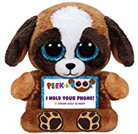 Ty Peek-A-Boo Phone Holder with Screen Cleaner Bottom, Pups Dog by Ty