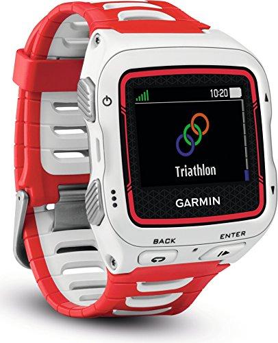 Garmin Forerunner 920XT GPS, Colore Bianco/Rosso