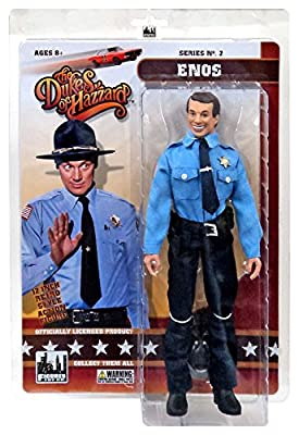 "The Dukes of Hazzard Series 2 Enos 12"" Action Figure [12""]"