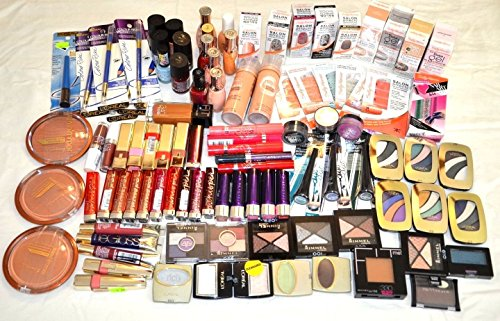 15-Piece-Lot-of-Brand-name-Cosmetic-Makeup-Rimmel-Lorealhard-Candymaybelline-More