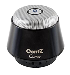 The OontZ Curve Super Portable Wireless Bluetooth Speaker. Better Sound, Better Volume, Incredible Online Price - The perfect speaker to take everywhere with you this summer (Titanium Black)