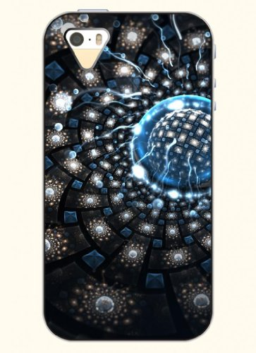 Oofit Phone Case Design With Shiny Ball For Apple Iphone 5 5S 5G