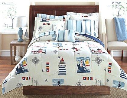Blue Queen Comforter Sets front-695413