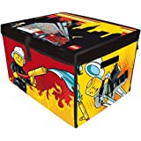 Neat-Oh! LEGO CITY FIRE ZipBin Large Toy Box Playmat