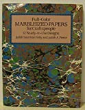 img - for Full Color Marbleized Papers for Craftspeople by Judith Saurman Kelly (1986-11-03) book / textbook / text book