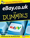 EBay.co.uk for Dummies, UK edition Jane Hoskyn
