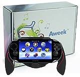 Aweek® Bracket Handgrip Handle Grip Case for Playstation Vita 1000 PSVita PS Vita - Red