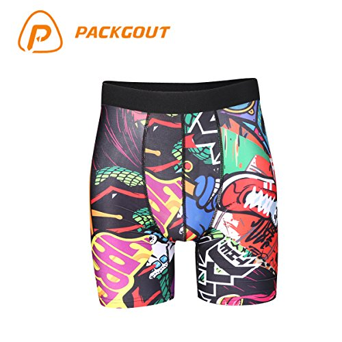 PACKGOUT Mens Compression Shorts